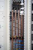 Electrical power switchboard — Zdjęcie stockowe