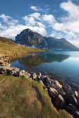 Lake Enol — Stock Photo