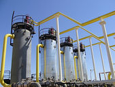 Natural Gas Industry — Stock Photo
