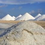 Salt mountains — Stock Photo