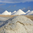 Stock Photo: Salt mountains