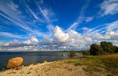 Estonian sky — Stock Photo