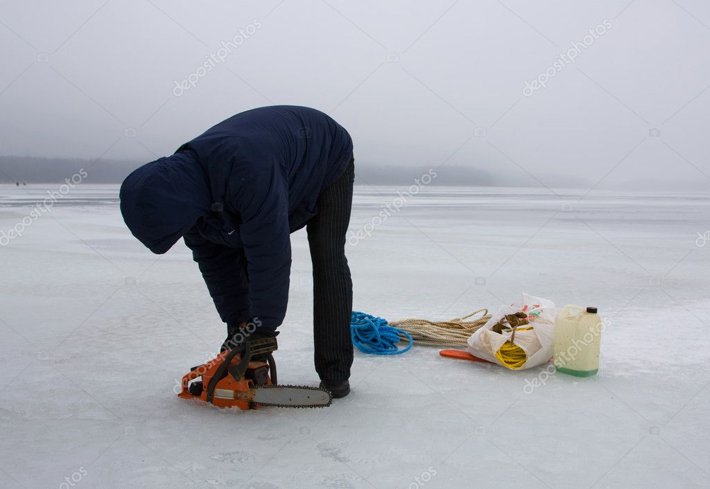 Ice cold winter  Stock Photo #3747471