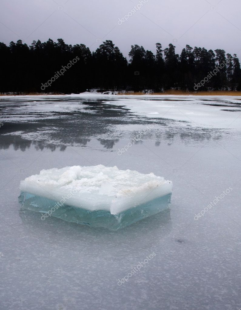 Ice cold winter — Stock Photo #3747477