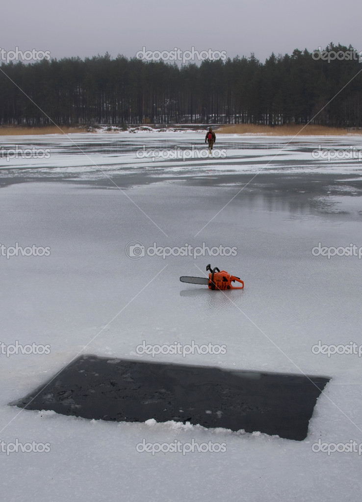 Ice cold winter — Stock Photo #3747479