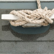 Stock Photo: Fastened rope