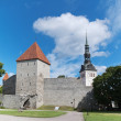 Stock Photo: Tallinn. Towers in fortification