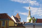 Roofs of old Tallinn — Stock Photo