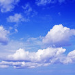 Stock Photo: Landscape with blue sky and clouds