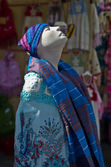 Colorful Mannequin — Stock Photo