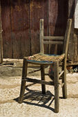 Old chair — Stock Photo