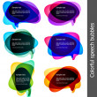 Bubbles for speech — Imagen vectorial