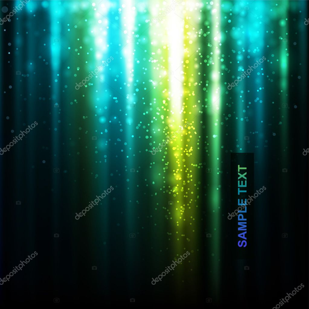Abstract glowing background. Vector illustration — Stock Vector #3713526
