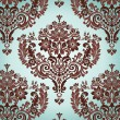 Damask Pattern — Vettoriali Stock
