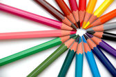 Rainbow Pencils — Stock Photo