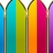 Royalty-Free Stock Photo: Zippers
