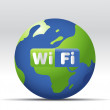 Wifi Icon - Stock Photo