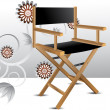 Director chair — Stockfoto #3771171