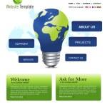 Website Template — Stock Photo #3772300