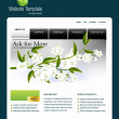 Stock Photo: Website template