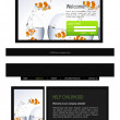 Website template - Stock Photo