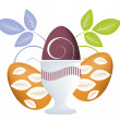 Royalty-Free Stock Photo: Easter Concept Illustration