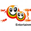 Logo Design for Intertainment agency. — Stock Photo #3774732