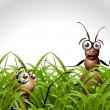 Antic Ant Character — Stock Photo