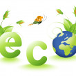 Ecology design — Stock Photo
