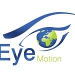 Eye Motion Logo — Stock Photo