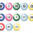 Bingo balls — Stock Photo