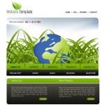 Website template — Stock Photo