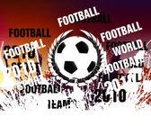 Futbol kavramı arka plan — Stok fotoğraf
