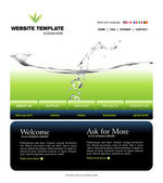 Website template — Stock Photo
