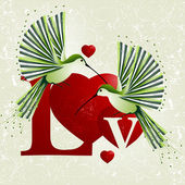 Love Illustration — Foto Stock
