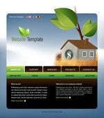 ウェブサイト テンプレート — ストック写真