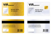 VIP MEMBERSHIP CARD — Stock Photo