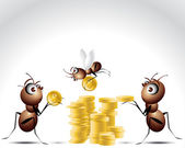 Ant Character — Stock Photo