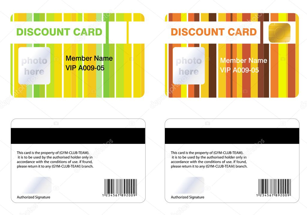Discount membership card, for a special offers. — Stock Photo #3777238