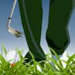 Golf Sport - Stock Photo