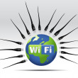 Royalty-Free Stock Photo: Wifi Icon