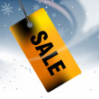 Christmas Sale - Foto de Stock