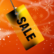 Christmas Sale - Stockfoto