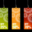 Sales and discount concept - Imagen vectorial