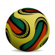 Official world cup 2010 ball — Stock Vector