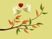 Aşk kavramı — Stok Vektör