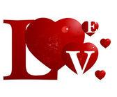 Love Illustration — Stock Vector