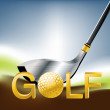 Golf Sport — Stock Vector #3881083