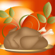 Stock Vector: Thanksgiving Concept