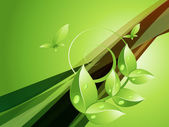 Concept écologique — Vecteur